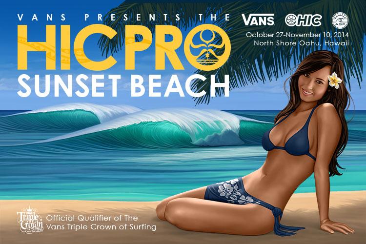 HIC PRO SUNSET BEACH