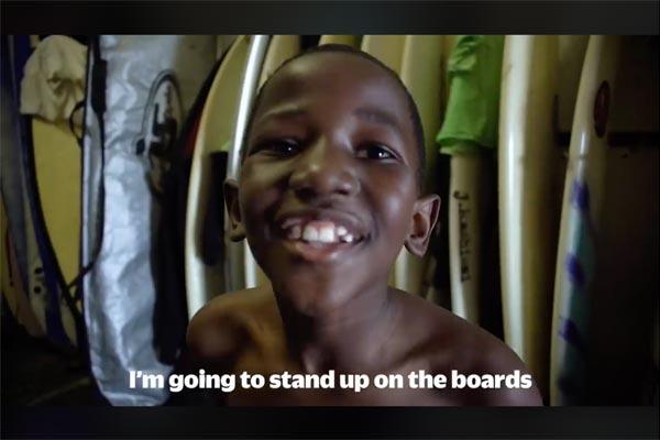 Surf for Smile 南アフリカから笑顔がいっぱい